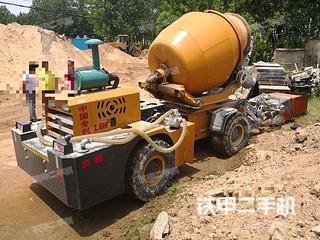 鲁兴大力4立方混凝土搅拌车搅拌运输车