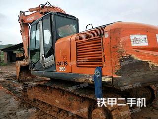 日立ZX200-3进口挖掘机