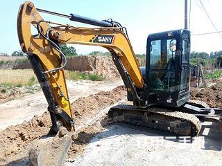 三一重工SY55U挖掘机