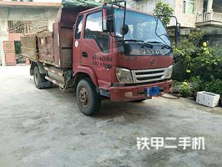 江淮重工4X2工程自卸车