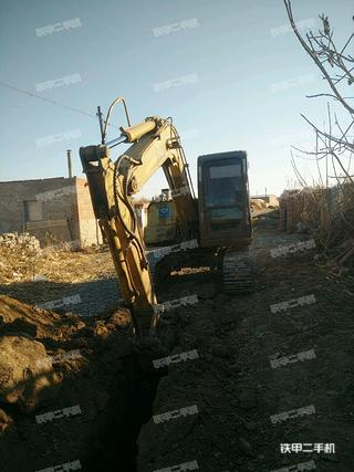 山特重工HX-X150履带式卸煤挖掘机