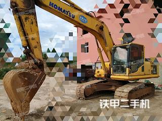 小松PW220-7挖掘機實拍圖片