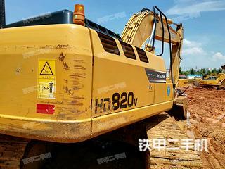 加藤HD820V-LC挖掘机