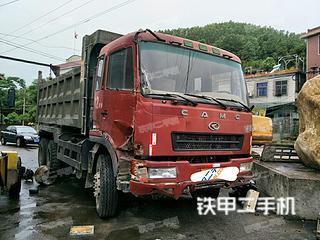华菱星马6X2工程自卸车