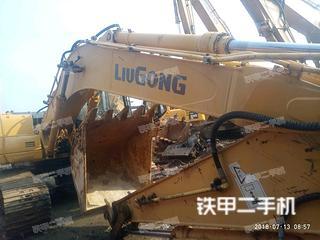 柳工CLG920D挖掘机实拍图片