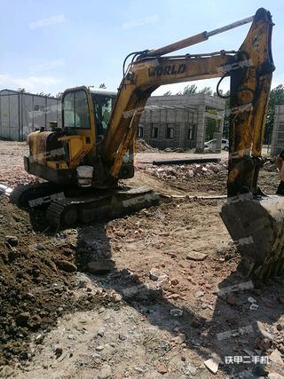沃得重工W260-7挖掘机