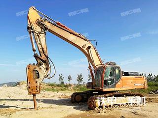 斗山DX350LC挖掘机