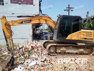 湖南-怀化市二手三一重工SY135C-9挖掘机实拍照片