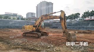 湖南-张家界市二手小松PC200-8挖掘机实拍照片