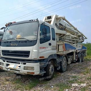 湖南-长沙市二手中联重科ZLJ5382THB46泵车实拍照片