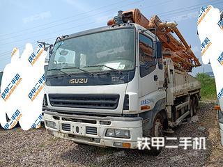 湖南-长沙市二手中联重科ZLJ5337THB 47X-5RZ泵车实拍照片