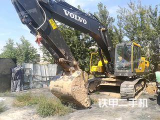 陕西-铜川市二手沃尔沃EC250D挖掘机实拍照片