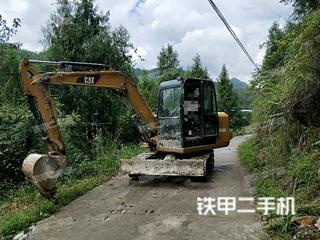 四川-达州市二手卡特彼勒306E2小型液压挖掘机实拍照片