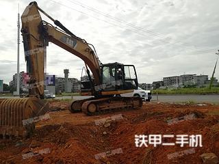 湖南-衡阳市二手卡特彼勒320D液压挖掘机实拍照片