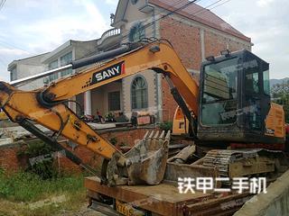 陕西-安康市二手三一重工SY75C-9挖掘机实拍照片