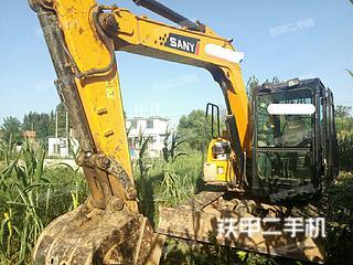 河北-邯郸市二手三一重工SY75C-9挖掘机实拍照片