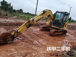 江西-抚州市二手小松PC70-8挖掘机实拍照片