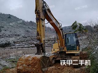贵州-遵义市二手小松PC130-7挖掘机实拍照片