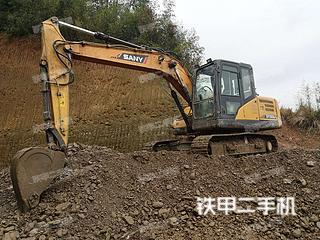 湖南-邵阳市二手三一重工SY135C-9挖掘机实拍照片