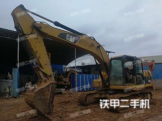 广西-贵港市二手卡特彼勒320D液压挖掘机实拍照片