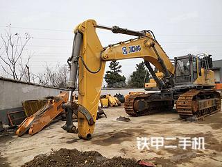 江苏-南京市二手徐工XE700C挖掘机实拍照片