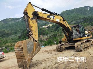 湖南-郴州市二手卡特彼勒336D液压挖掘机实拍照片