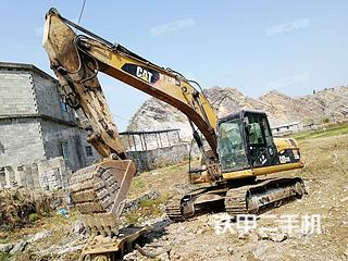 贵州-黔西南布依族苗族自治州二手卡特彼勒320D液压挖掘机实拍照片