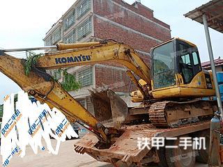 湖南-邵阳市二手小松PC130-7挖掘机实拍照片
