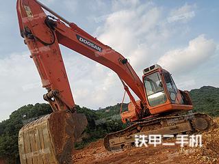 湖北-武汉市二手斗山DH220LC-7挖掘机实拍照片