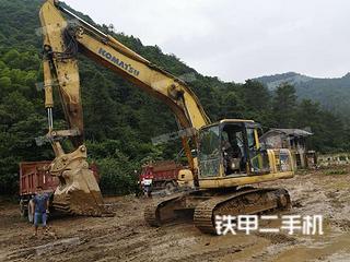 湖南-邵阳市二手小松PC200-8挖掘机实拍照片