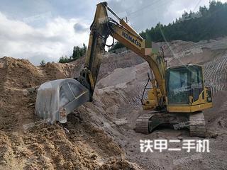 湖南-湘西土家族苗族自治州二手小松PC130-8M0挖掘机实拍照片