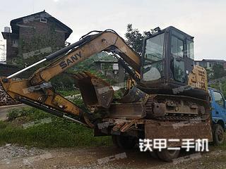 湖南-邵阳市二手三一重工SY75C-9挖掘机实拍照片