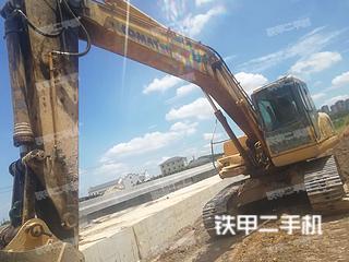 湖南-衡阳市二手小松PC200-7挖掘机实拍照片