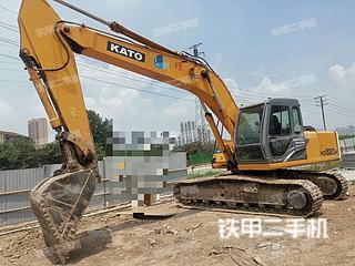 加藤HD820R挖掘機實拍圖片