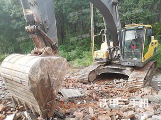 陕西-西安市二手沃尔沃EC250DL挖掘机实拍照片