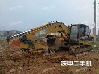 广西贵港市二手卡特彼勒320C挖掘机实拍照片