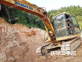 江西-赣州市二手小松PC120-6E挖掘机实拍照片