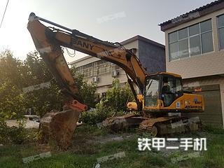 河南-驻马店市二手三一重工SY215C挖掘机实拍照片