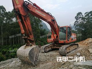 广西-桂林市二手斗山DH225LC-7挖掘机实拍照片