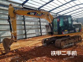 贵州-黔西南布依族苗族自治州二手卡特彼勒313D2GC小型液压挖掘机实拍照片