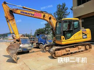 湖南-益阳市二手小松PC130-7挖掘机实拍照片