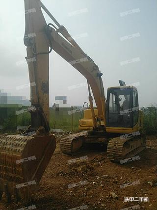 广东-肇庆市二手小松PC120-6挖掘机实拍照片