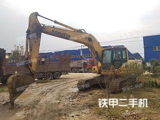 河南-驻马店市二手小松PC210LC-8挖掘机实拍照片
