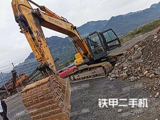 二手现代 R225LC-7 挖掘机转让出售