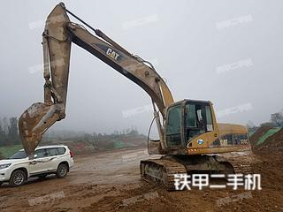 河南驻马店市二手卡特彼勒320C挖掘机实拍照片