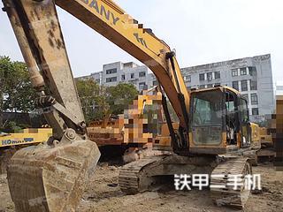 浙江-杭州市二手三一重工SY215C挖掘机实拍照片