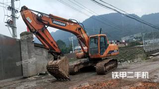 四川-雅安市二手斗山DH200LC-7挖掘机实拍照片
