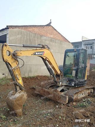 陕西-西安市二手三一重工SY55U挖掘机实拍照片