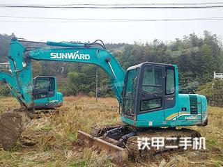 山河智能SWE90E挖掘机实拍图片