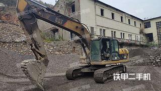 湖北-宜昌市二手卡特彼勒323DL挖掘机实拍照片